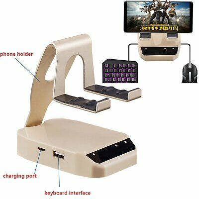 PUBG MOBILE GAMEPAD Keyboard Mouse Converter Adapter Dock Stand for IOS  Android