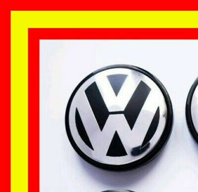 1 Tapa  Llanta Rueda Volkswagen Vw Polo Golf Passat 65 Mm Emblema Log 3B7601171