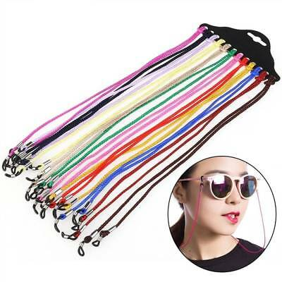 12pcs Anti-lost Nylon Spectacle Frame Holder Sunglasses Eyewear Cord Neck m