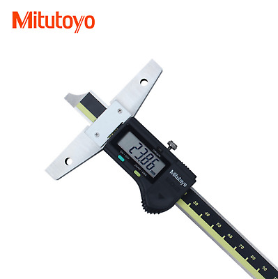 Mitutoyo Digital Depth Vernier Caliper 571-201-20 0-150 mm