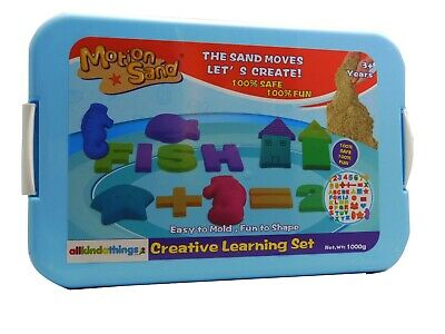 Motion Sand,Moving Sand 1 kg Deluxe Set Magic Motion Play Sand,Creative Set
