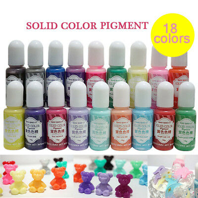 UV Resin Pigment Polish Solid Glue for Silicone Mold Jewelry Making DIY Handmade