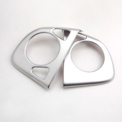 Chrome ABS Inner Car Steering Wheel Insert Cover Frame Trim For CRV CR-V 12-2015