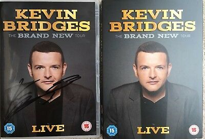 Kevin Bridges: The Brand New Tour - Live (Limited Edition Exclusive Signed)