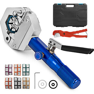 71500 Hydraulic Hose Crimper Tool Kit Operate Mounting  Crimping Crimper Snap