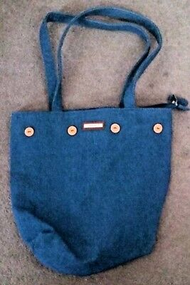 Longaberger Purse with 5 Reversible Interchangeable Covers*Preowned* VGC!