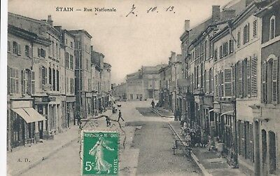 CPA - France - (55) Meuse - Etain - Rue Nationale