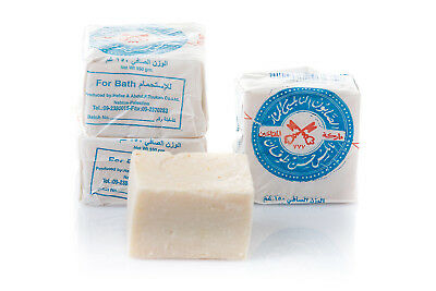 TOUKAN palestinian nablus 100% pure olive oil soap holy land skin care bath bar
