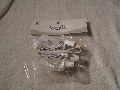 5' FOOT C7 Replacement Blow Mold Holiday Light Cord Switch Clip Bulb New
