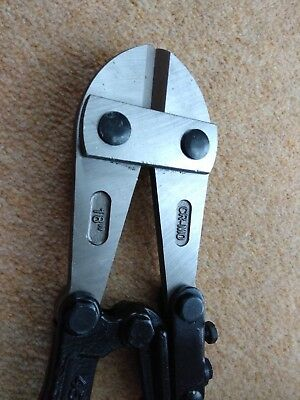 Wickes Heavy Duty Bolt Cutters Croppers 450mm 18inch - bolt, chain, padlock wire