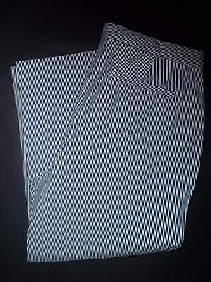 Women's Lands' End Pinstripe Stretch Ankle Pants~Size 4 Petite