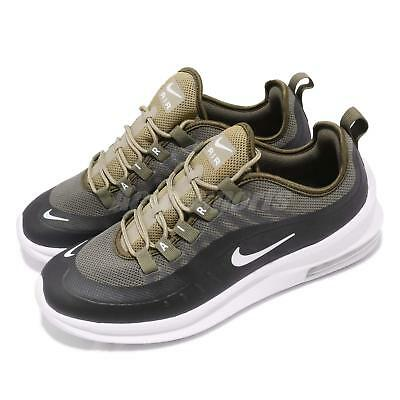 new style e560d 10e2a Nike Air Max Axis Medium Olive Green White Mens Running Shoes AA2146-200
