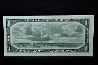 1954 $1 Bank Of Canada Note ✪ Devil's Haircut ✪ Face  Vf Very Fine ◢Trusted◣