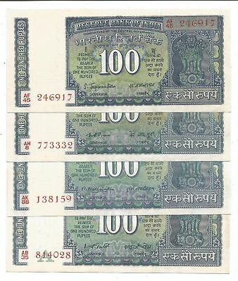 Narsimham /& Patel Brilliant UNC White Strip Notes Puri Mr Jagannathan Rs 100