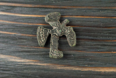 Ancient Bird amulet (soul) of pre-pagan origins c.3rd century AD Pagan Jewelry