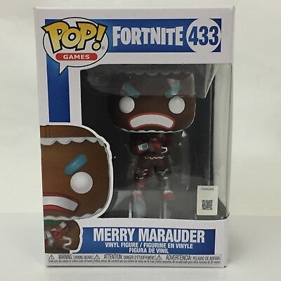 Funko Pop! Fortnite Merry Marauder #433 - W/Funko Protector