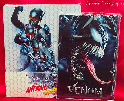 Ant-man and the Wasp Steelbook (3D + Blu-Ray) Import + Marvel Art Cards