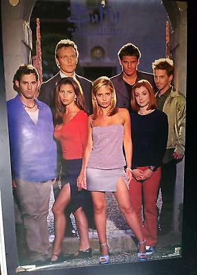Buffy the Vampire Slayer Rolled Original Promotional (Commercial) 22x34 Poster