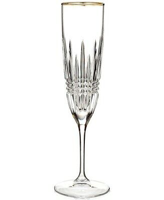 Waterford Crystal LISMORE DIAMOND GOLD Champagne Flute (S) - NEW!