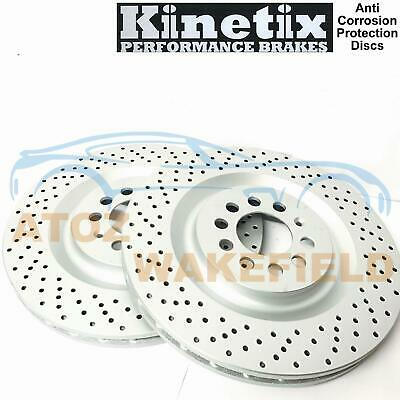 For Seat Leon 1.8 T Cupra R 1M1 225HP -05 Front Drilled Brake Discs 323mm