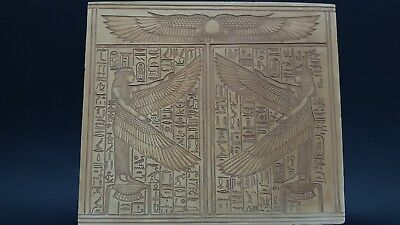 RARE ANCIENT EGYPTIAN ANTIQUES ISIS Stela Relif ISIS Tomb Egypt Stone BC