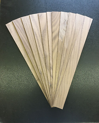 """Cherry craft and hobby wood strips .07/"""" x 2/"""" x 13/"""" pack of 12"""