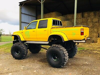 Toyota Hilux Monster Truck One Of A Kind Off Roader Road Legal 9 400 00 Picclick Uk