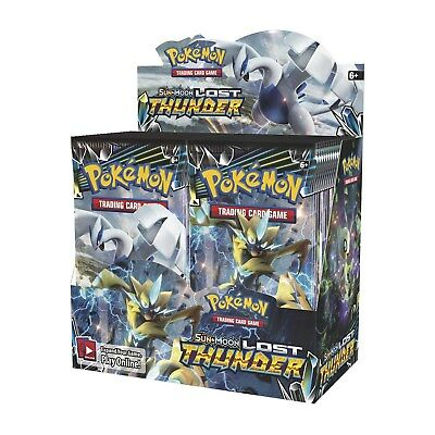 Pokémon-Display Lost Thunder LOT (Booster Box, English)