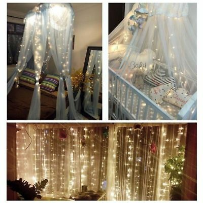 Romantic Fairy Party Lights Home Curtains String Lamps Wedding Garden Decorative