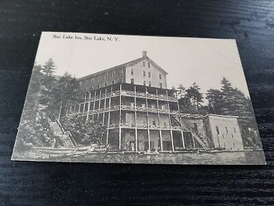 Postcard Star Lake Inn, Star Lake, New York