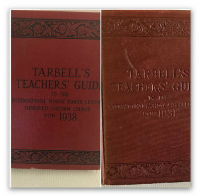 Tarbells Teachers Guide To The International Sunday School Lessons