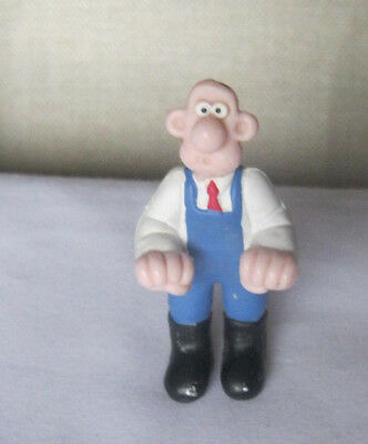 Wallace and Gromit figure 1989 collectable figure vintage 7cms