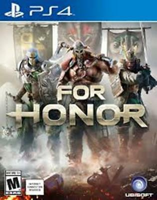 For Honor Playstation 4 (PS4) FREE POST VERY GOOD INCLUDES MANUAL