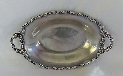 Antique Theodore B Starr Sterling Silver Small Tray 1864 - 1918