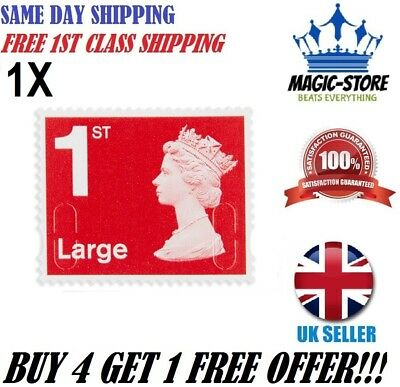 Royal Mail Large Letter 1St Class Self Adhesive Postage Stamp Uk Stock