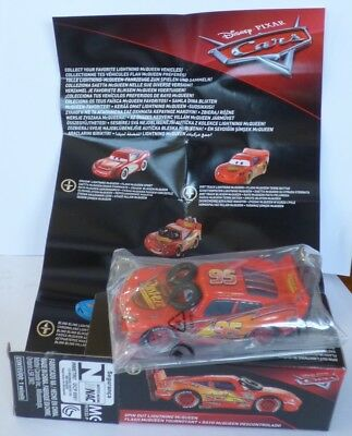 Disney Pixar Cars SPIN OUT LIGHTNING McQUEEN  Rare  Over 100 Cars Listed !!