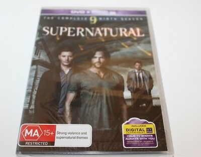 Supernatural The Complete 9 Season DVD 2014 Brand New Sealed