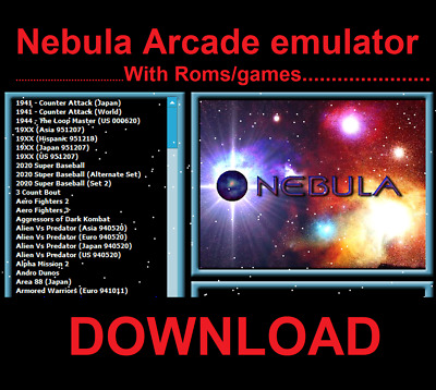 Nebula Arcade emulator With Roms/games download