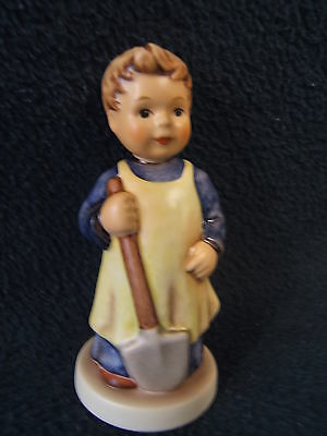"Goebel Hummel Figurine, 3 3/4"" Entitled ""Garden Treasures"" Pattern #727 M.I.Club"