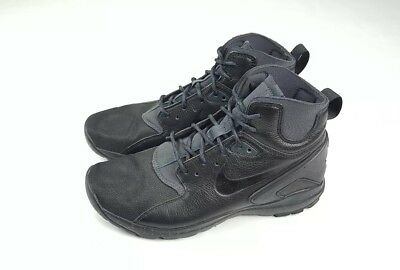 the latest e46dc a9d4d Mens NIKE KOTH ULTRA MID Black Trainers Shoes Boots 749484-001 SIZE 9