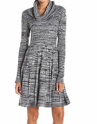 Nwt 134 Calvin Klein Lace Up Front Sweater Dress Xl