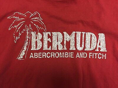 Abercrombie & Fitch True Vintage Graphic Tee Shirt Mens Large