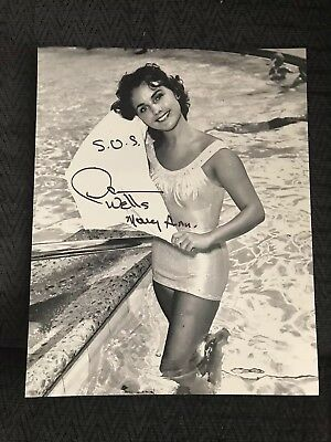 Dawn Wells Signed 8 X 10 Photo Autographed Mary Ann Gilligan's Island