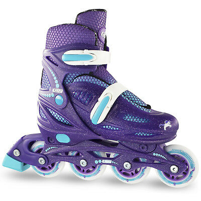 Crazy 148 GLITTER PURPLE Adjustable Roller Blades
