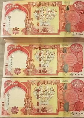 500,000 New Iraqi Dinars 2014  with New Security Features - IRAQ DINAR UNC