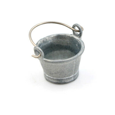 Dollhouse Miniature Water Bucket 1:12 Fairy Home Kitchen Pretnd Play Game ZY