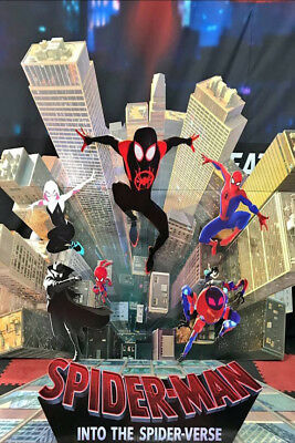 New Spider Man Into the Spider-Verse 2018 Comic -20x30 24x36 Poster Y-30