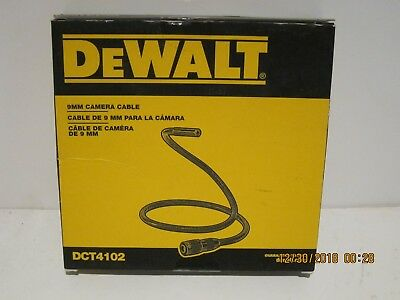 DeWalt DCT4102 9mm Camera Cable (3Ft Length) FREE PRIORITY SHIPPING-NEW IN BOX!!