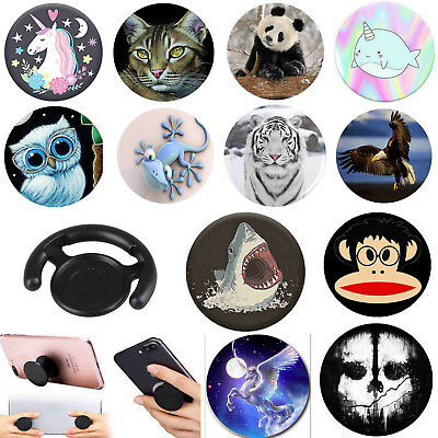 Universal Pop Up Phone Holder Expanding Stand Hand Grip Mount For all phone -Lot