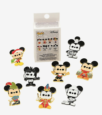 Disney Mickey Mouse Blind Box Pin BoxLunch Loungefly Limited 90th Funko Pop!